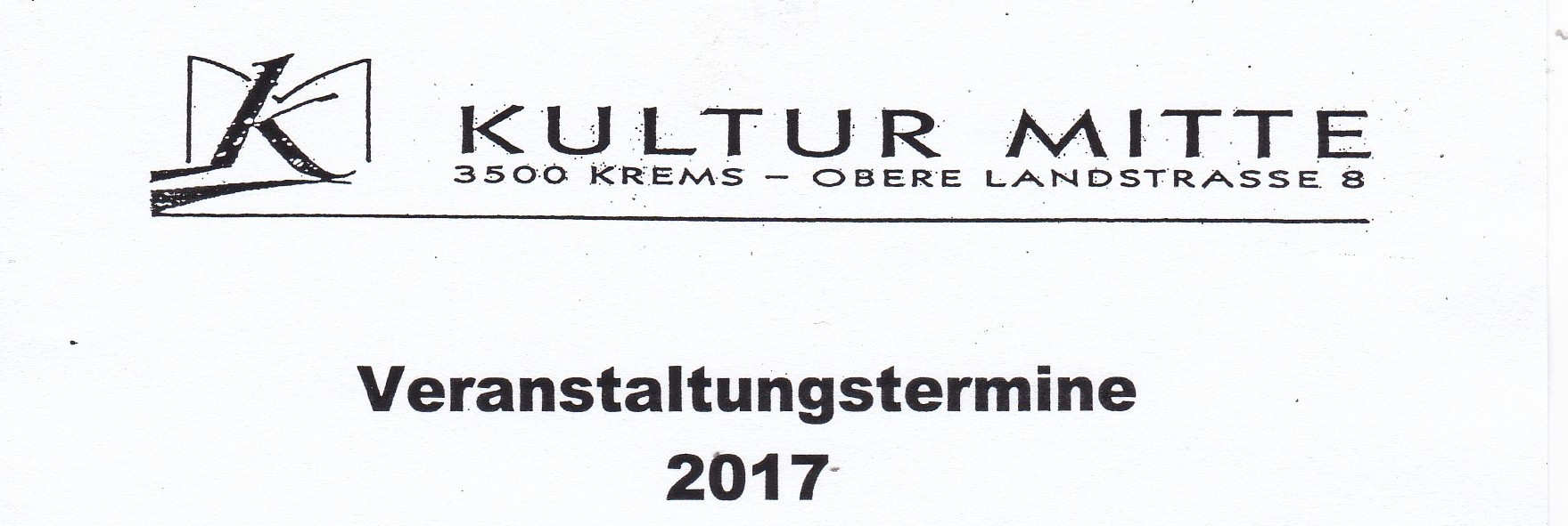 KM Veranstaltungen 2017