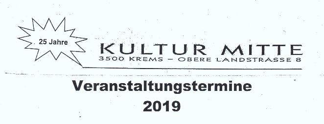 Veranstaltungen 2019