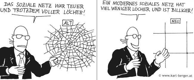 Ein modernes soziales Netz …