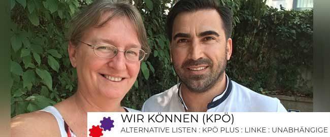 Christiane Maringer und Deniz Kapcak treten bei der Nationalratswahl an