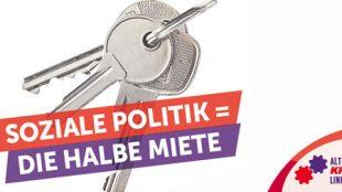 Soziale Politik ist die halbe Miete ;-)