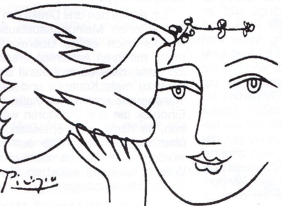 Picasso Friedenstaube